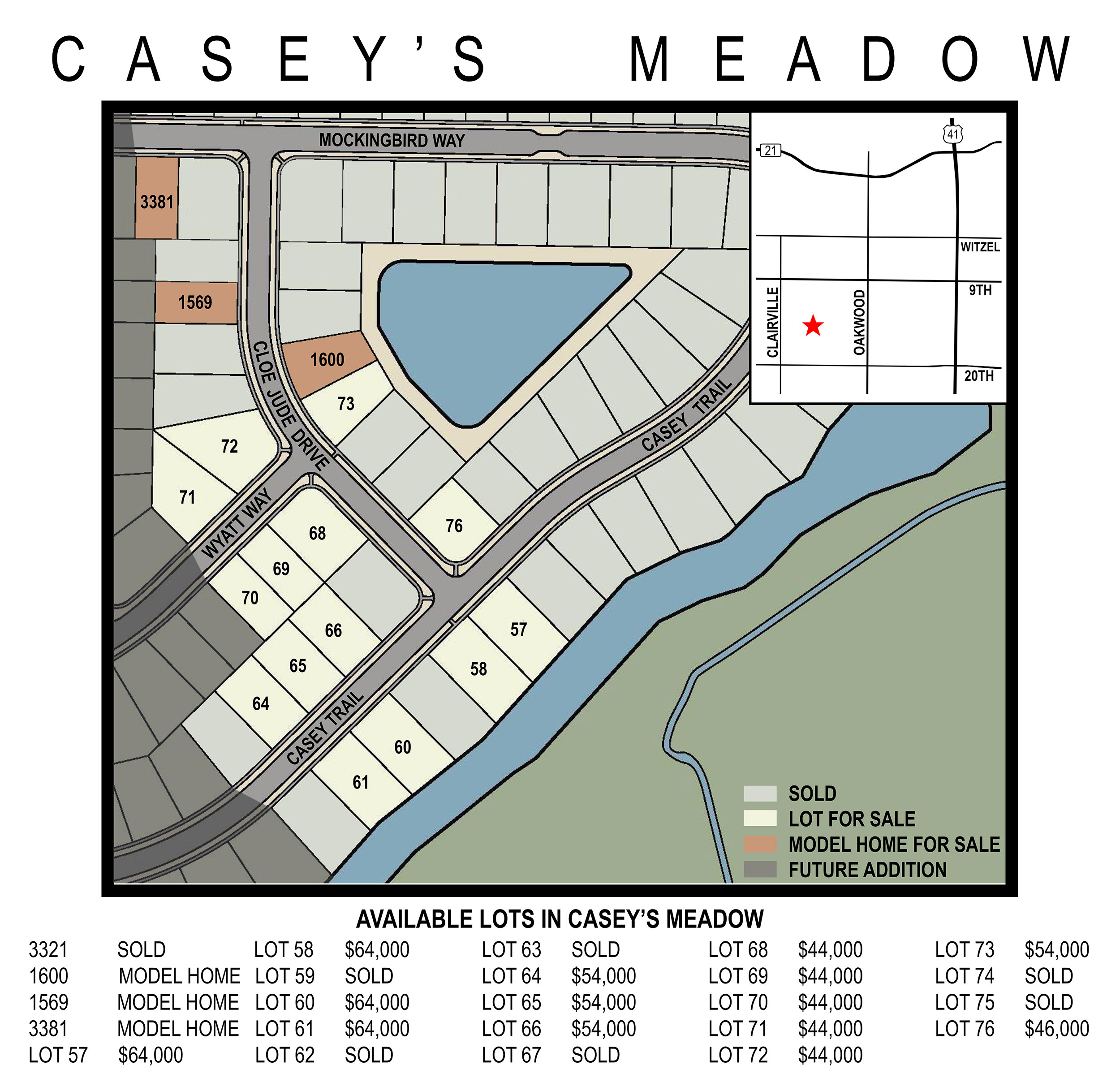 Land for Sale: Casey's Meadow