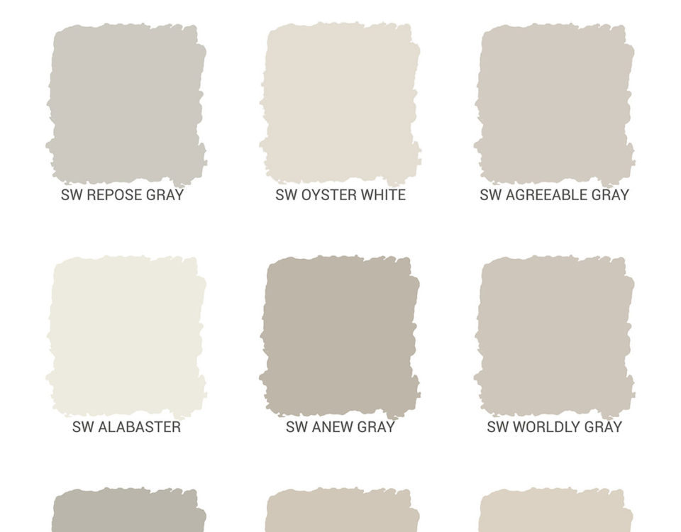 Wesenberg Homes Interior Paint Palette