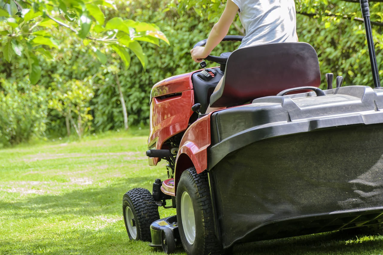 Riding Lawn Mower Maintenance