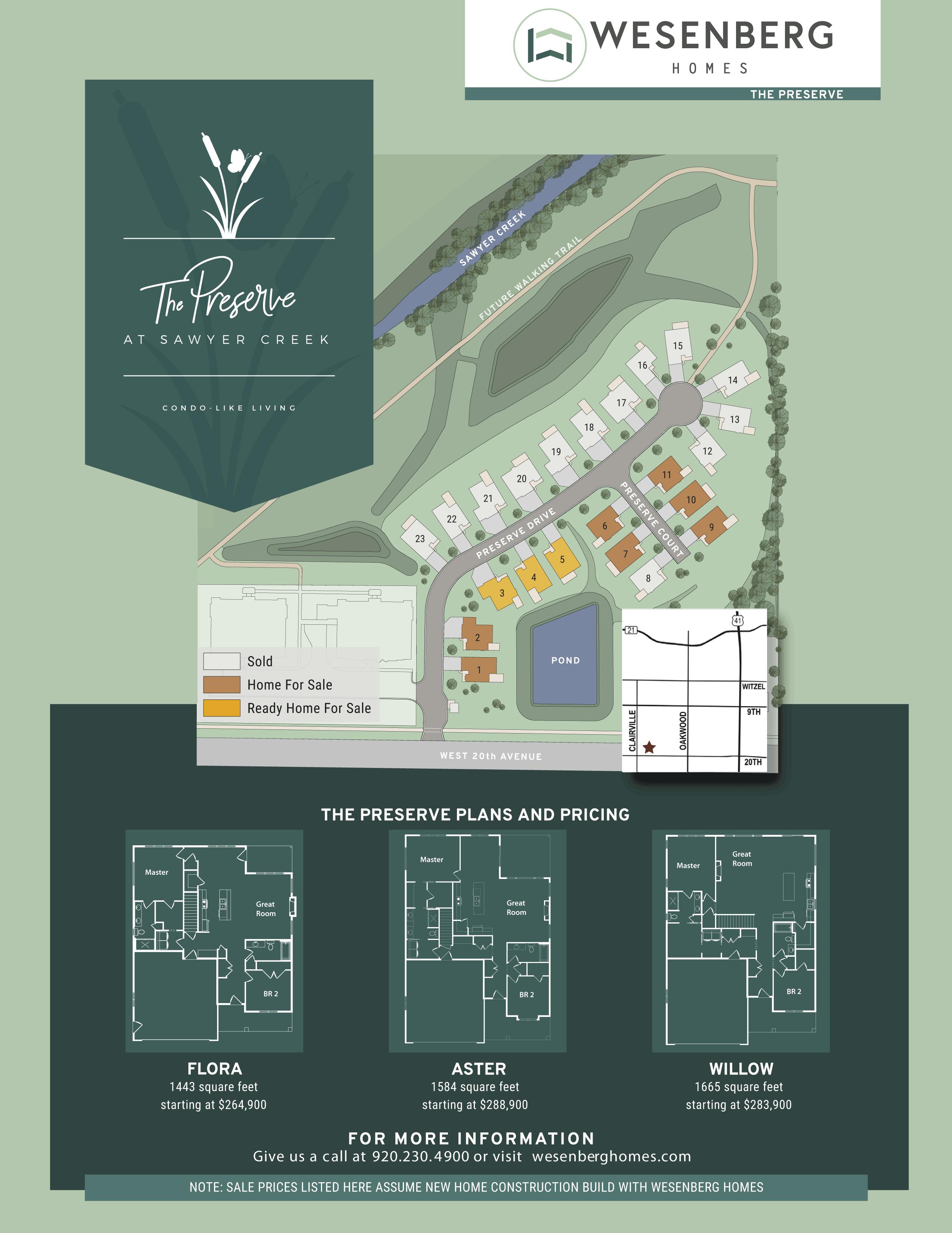 The Preserve Condos Map